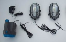 Standard Bright Lighting System with Power Torch