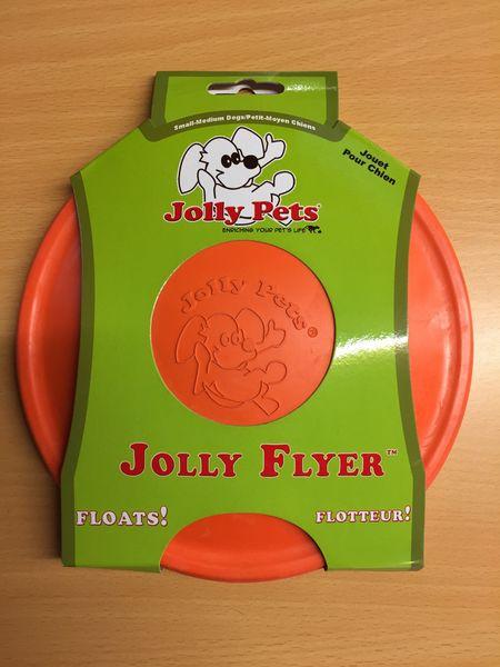 Jolly Flyer Dog Toy Orange 7'5''