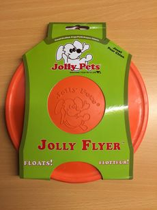 Jolly Flyer Dog Toy
