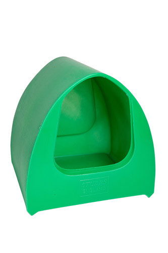 Poultry Palace Chicken Nest Box Green