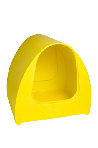 Poultry Palace Chicken Nest Box Yellow