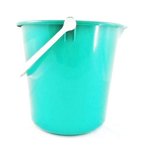 Green multipurpose bucket