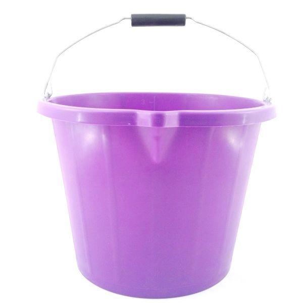 Purple multipurpose bucket