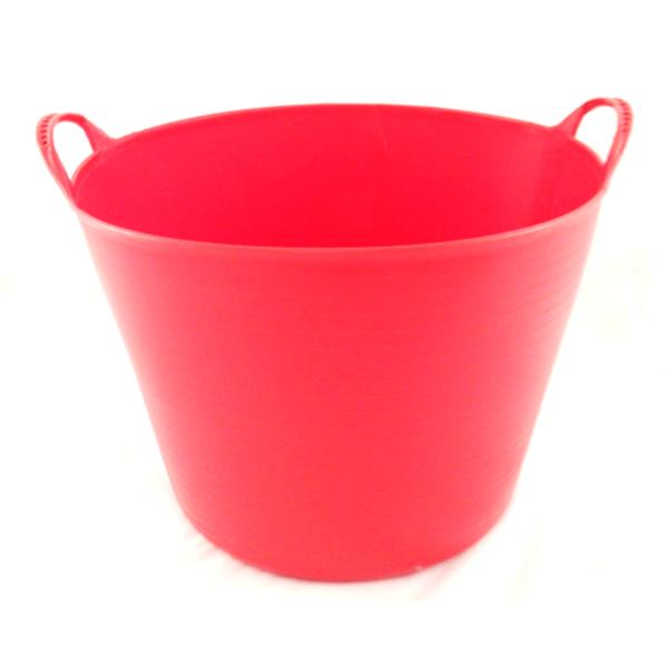 42Lt Red Flexible Tub