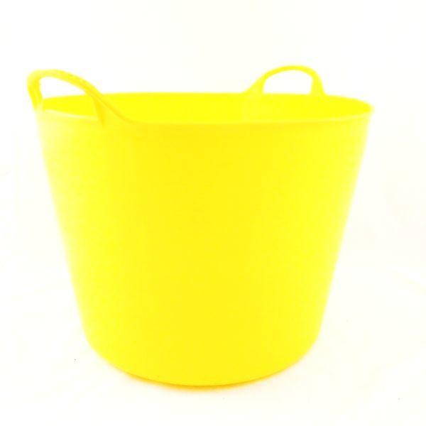 42Lt Yellow Flexible Tub