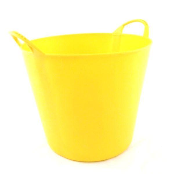Medium Flexible Tub Yellow