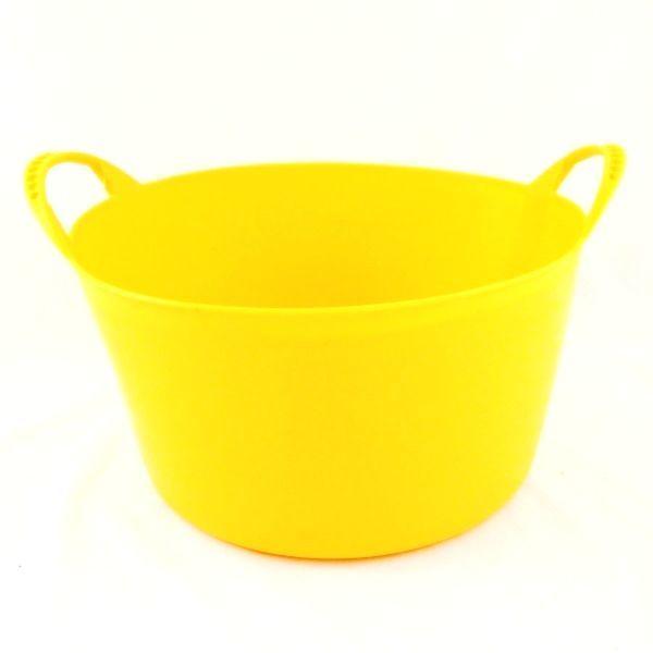 Yellow 15 Lt Flexible Tub