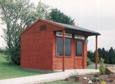 Reception Office & Information Kiosk