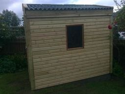 Tanalised Timber Garden Storage Building