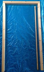 40ins Tack Room Door Frame