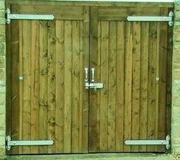 FLB Garage Doors 96ins x 84ins