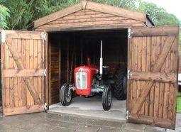 Bespoke Timber Built Garage