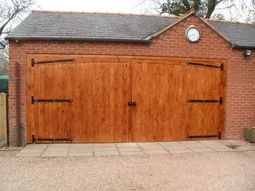 Bespoke Large Garage Doors