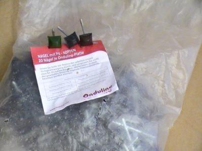 Bag of Red Onduline Nails (400 per bag)