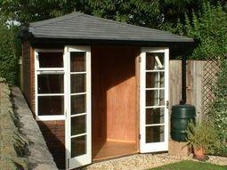 Llynfi Corner Garden Room