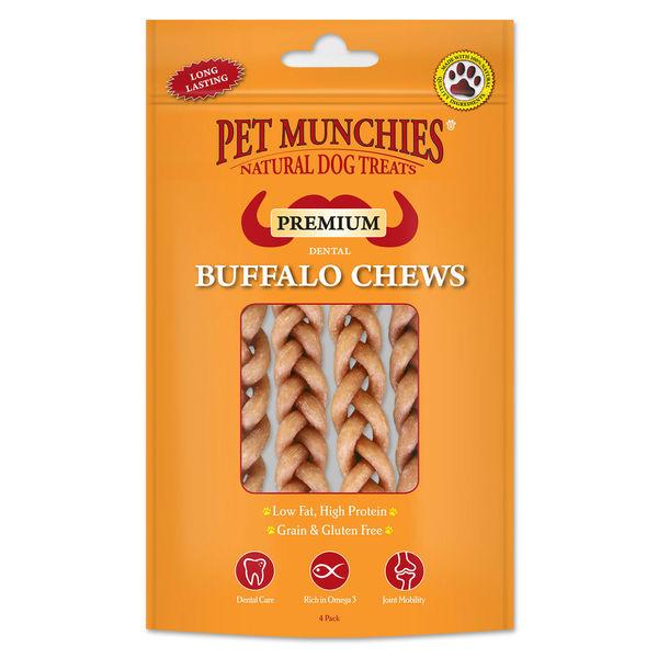 Pet Munchies Buffalo Dental Chew image #1