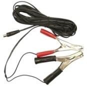 5m Lead with clips for charging Power Torch