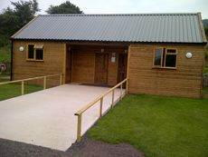Commercial Toilet & Shower Block Front View