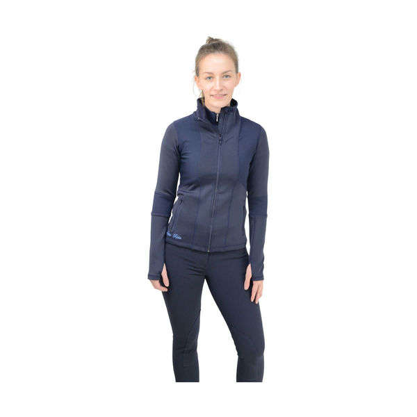 Navy HyFASHION Sport Active Rider Jacket image #1