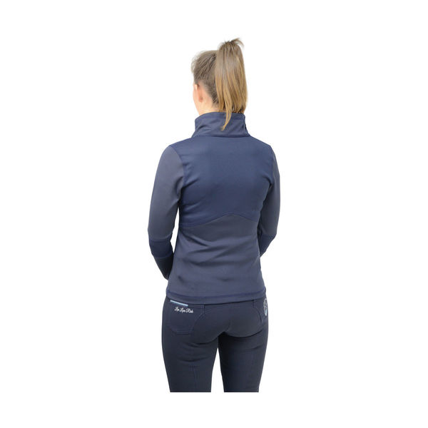 Navy HyFASHION Sport Active Rider Jacket image #2