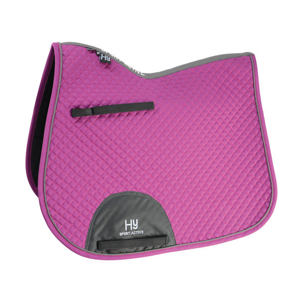HyWITHER Sport Active GP Saddle Pad port royal