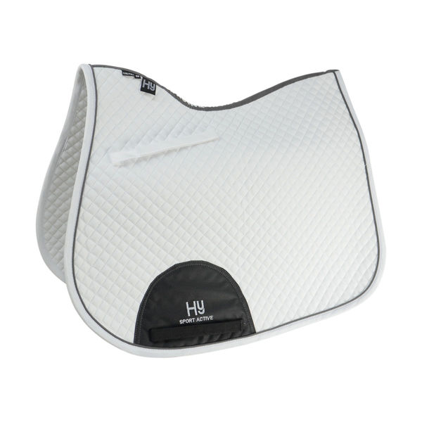HyWITHER Sport Active GP Saddle Pad white