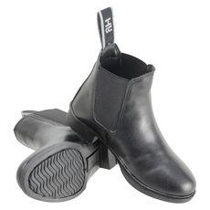 HyLAND Beverley Synthetic Jodhpur Boots