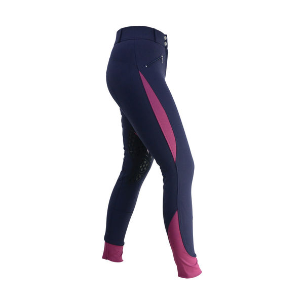HyPERFORMANCE Sport Active+ Ladies Breeches navy/port 24""