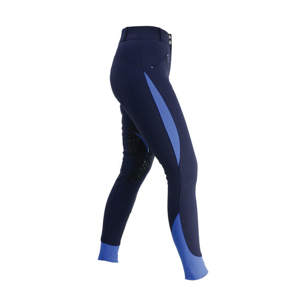 HyPERFORMANCE Sport Active+ Ladies Breeches navy/royal 24""