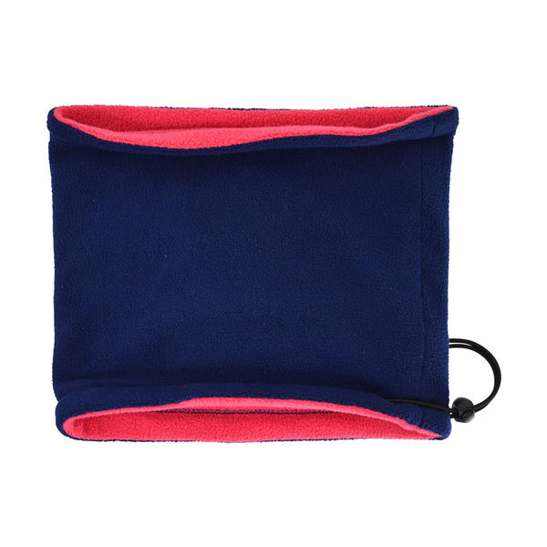 Hy Signature Fleece Neck Warmer navy/pink