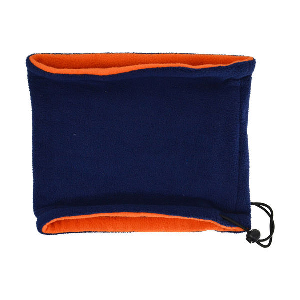 Hy Signature Fleece Neck Warmer Navy/Orange