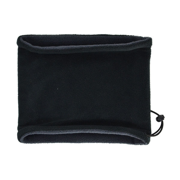 Hy Signature Fleece Neck Warmer Black/grey