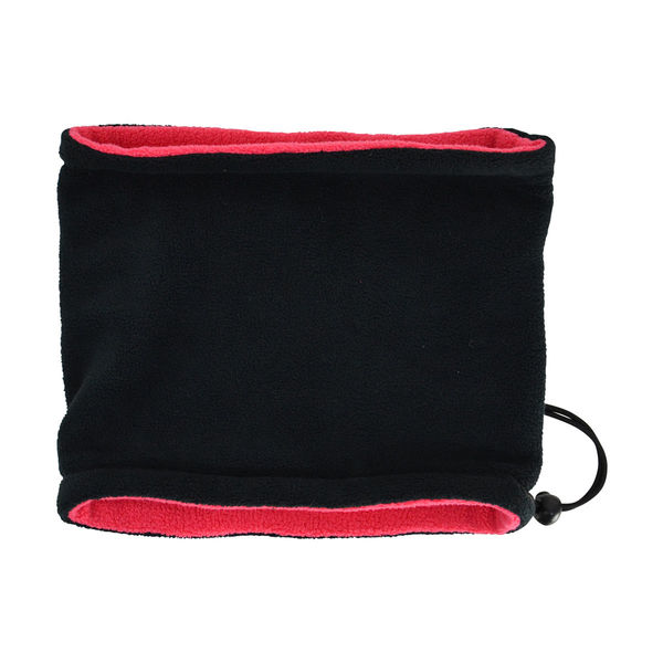 Hy Signature Fleece Neck Warmer blk/pink