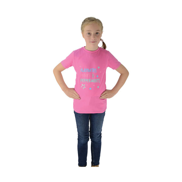 Zeddy Playdates T-Shirt Pink/Blue 3-4yrs