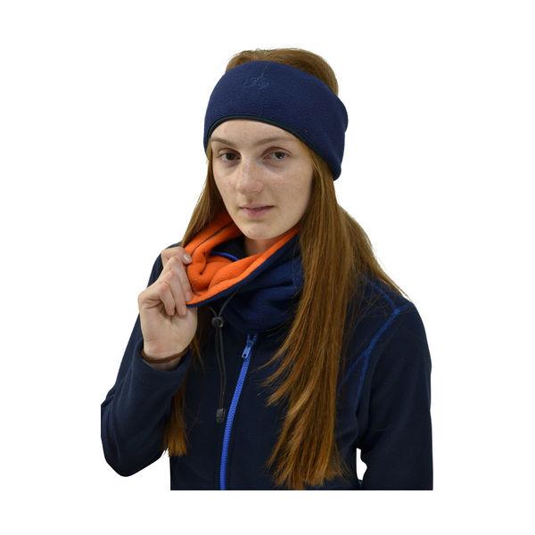 Hy Signature Fleece headband Navy