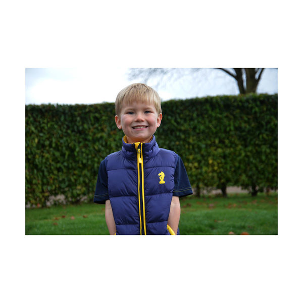 Lancelot Padded Gilet by Little Knight 3-4 years
