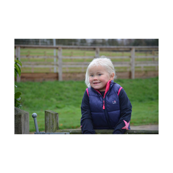 Annabelle Padded Gilet by Little Rider image #2