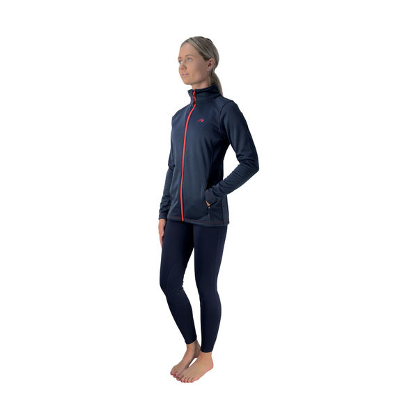 Hy Signature Softshell Jacket, navy/red, XL (16-18)
