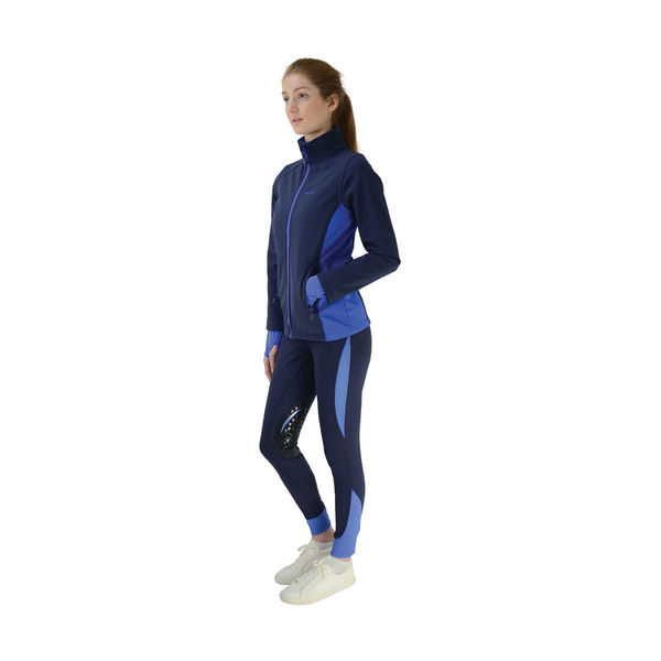 HyFASHION Sport Active + Softshell Jacket Navy/Regal Blue L