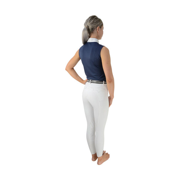HyFASHION Sophia Sleeveless Show Shirt navy back
