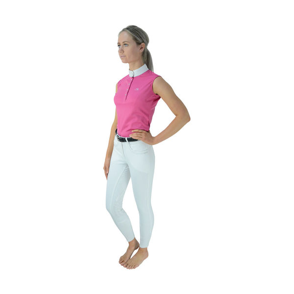 HyFASHION Sophia Sleeveless Show Shirt pink front