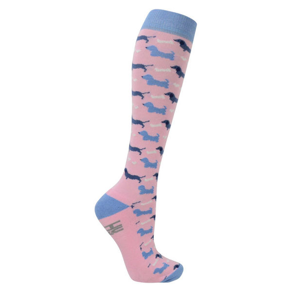 HyFashion Liza Dog Print Socks (Pack of 3)