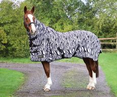 StormX Original Zebra Print Fly Rug