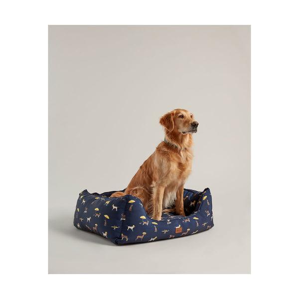 Joules Dog Print Box Bed image #1