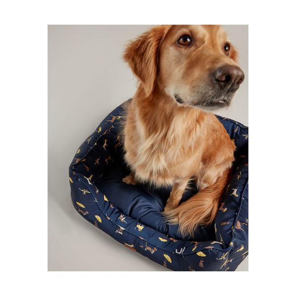 Joules Dog Print Box Bed image #2