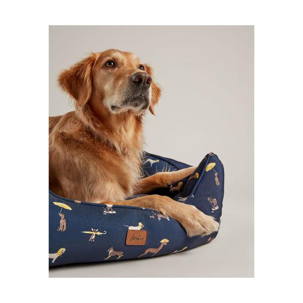 Joules Dog Print Box Bed image #3
