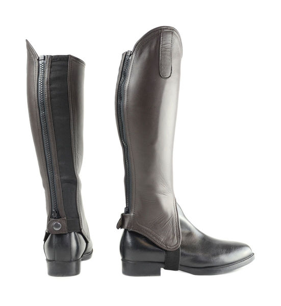 Hy Leather Gaiters - BROWN image #1