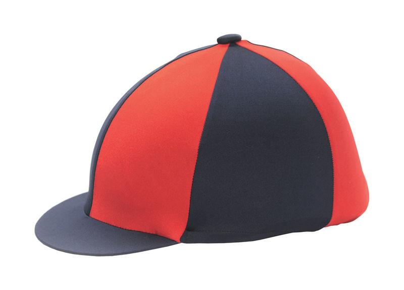 Hy Two Tone Lycra Silk Navy/Orange