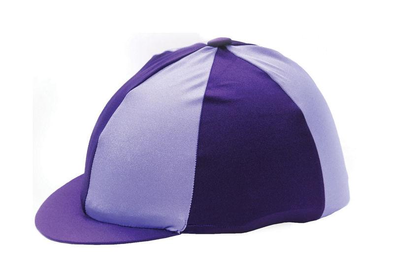 Hy Two Tone Lycra Silk Purple/Lilac