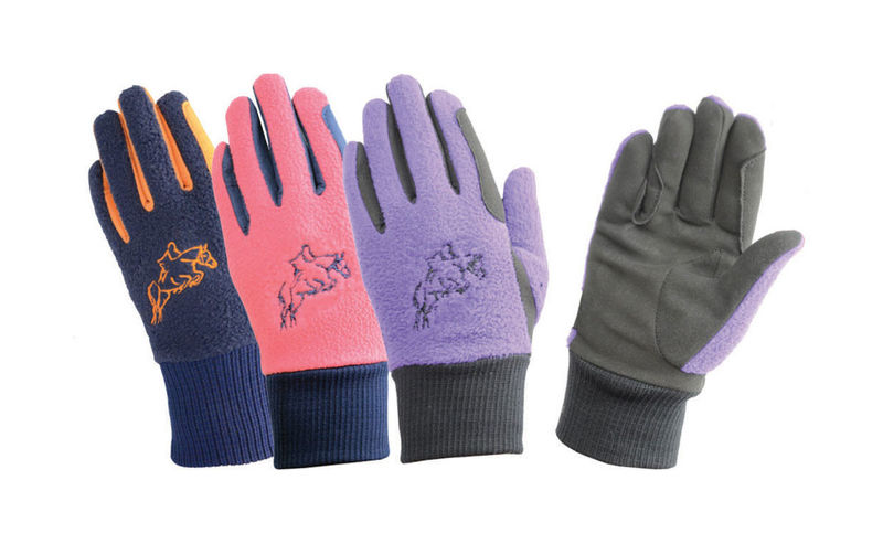 Hy5 Children's Winter Two Tone Riding Gloves image #1